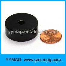 Эпоксидное покрытие круглого магнита с отверстием
