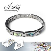 Pontilhar de destino joias cristais de Swarovski pulseira bracelete