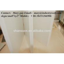 panneau de mousse extrudé par PVC de haute qualité / planche à découper / fabricant de carte de circuit imprimé / feuille d'uhmwpe /