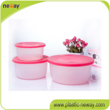 Quadratischer pp. Plastiknahrungsmittelbehälter mit Verschlüssen