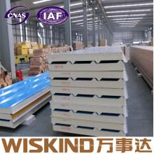 China Wiskind el panel de bocadillo rígido aislado en caliente de la PU para la pared