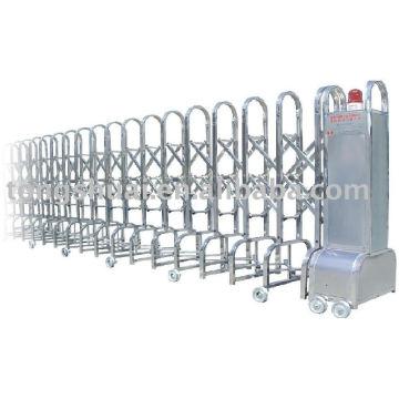 porte pliante automatique (acier inoxydable)