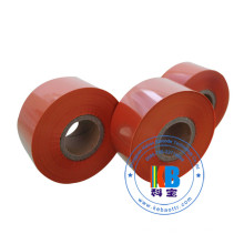 Оранжевая лента для принтера для измерения кожи