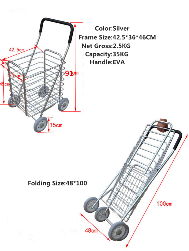 Folding shopping basket3