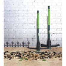 2kgs (4.4Lbs) outils de jardin d'agriculture Mattock de pioche en acier avec la poignée de fibre de verre