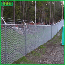 Manufacturer paint galvanized chain link fence
