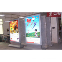 Aluminium Alloy Slim Scrolling Advertising Light Box