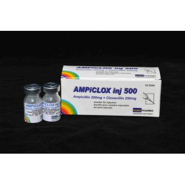 Ampicillin and Cloxacillin for Injection