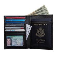 Bloqueo de tarjetas RFID con tarjeta de pasaporte