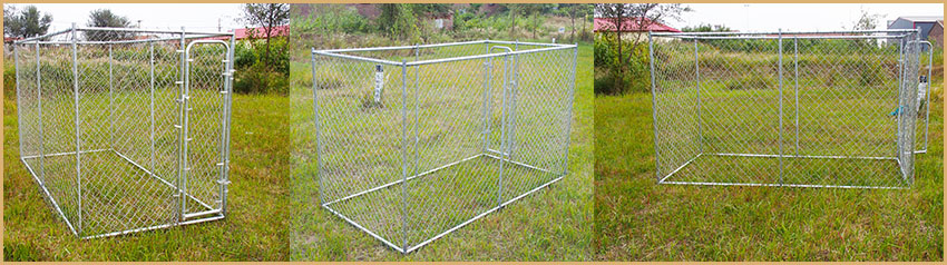 metal puppy enclosure