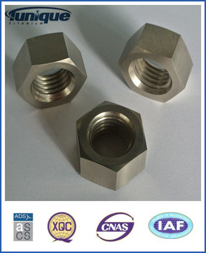 DIN934 M8 Titanium Hexagon Nut