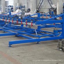 Machine automatique de gerbeur de feuille de panneau de toit / empileur automatique pour le panneau en acier