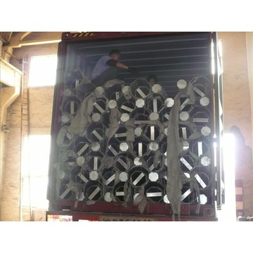 Polo de aço cônico de energia elétrica