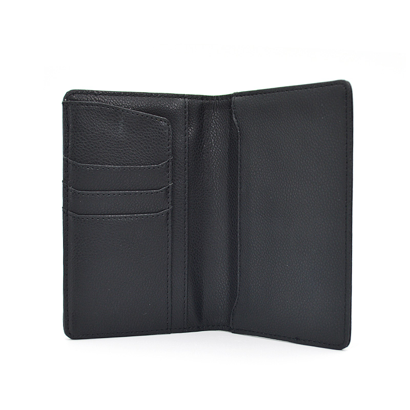 Wholesale Custom Logo Pu Leather Passport Card Holder