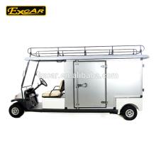48В Цена электрическая тележка гольфа уборка автомобиля с подгонянные коробки груза