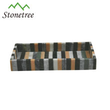 Wholesale Food Color Marble Hotel Serving Tray