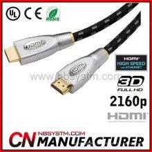 Cabo HDMI de alta velocidade com ethernet