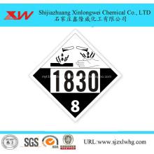 Acide sulfurique dans le fût IBC