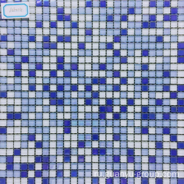 Blue Color Glass Mosaic