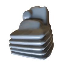 Pieza de estampación personalizada con revestimiento de plástico revestimiento de PVC