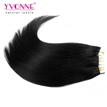 100% Human Hair Extension Skin Weft