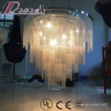 Современные декоративные и кристально проекта Привесной светильник с отеля