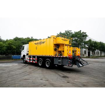 Asfalto Slurry Seal Micro Surfacing Road Building Machine