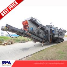 Machine de concasseur de pierre de Secondry dans le fournisseur de gravier au Nigéria