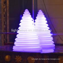 Christmas Ornamente LED leuchtende Turm Lampe led Weihnachtsbaum Dekorationen USB aufladbare gebrauchte indoor/outdoor-