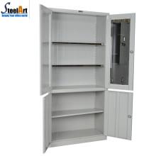 Armário de armazenamento de documentos de duas portas de mobiliário de escritório comercial de alta qualidade