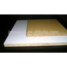 Tablero de aglomerado / tablero de partículas laminado melamina grado E1 y E2