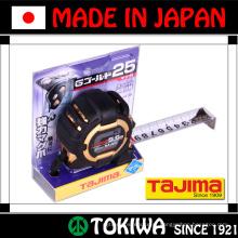 A fita métrica precisa. Fabricado pela Tajima Tool Corporation. Feito no Japão (função de fita métrica de medida)
