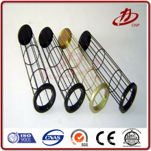 Automatic welding filter bag cage