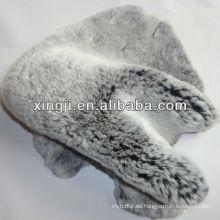 piel de piel rex conejo teñido colores rex piel de conejo piel para abrigo