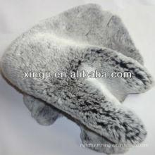 peau de fourrure rex lapin teint les couleurs rex peau de fourrure de lapin pour manteau