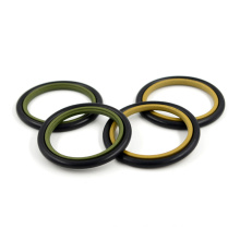 China Manufacture Rod Seal Rubber NBR PTFE HBTS GSJ STD Seal Step Seal For Hydraulic Buffer