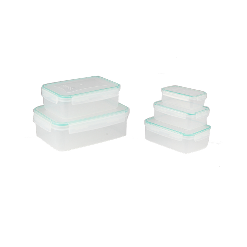 Airtight Leak Proof Easy Snap Lock Food Container Set