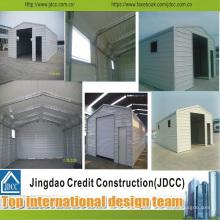 Garage en acier léger standard ISO