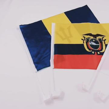 Hot Sale Polyester benutzerdefinierte Autofenster Flagge