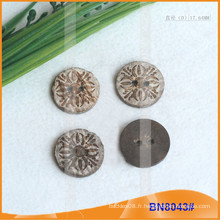 Boutons de noix de coco naturels pour vêtement BN8043