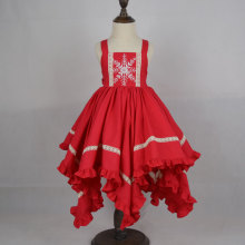 Wholesale Chinese red christmas dress