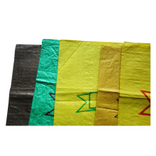 China Factory High Quality Low Price Cement Green 50kg Woven PP Sand Rice Bags