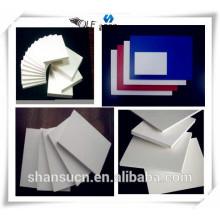 PVC branco placa de espuma para impressão de sinal, placa da espuma do pvc forex / pvc celuka placa de espuma para sinalização