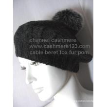 Cachemire Câble Fourrure Fur POM Ty0910