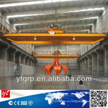 Grabing Overhead Crane, grúa de arriba de 20 toneladas