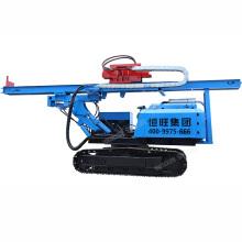 Mini hydraulic pile driver for solar guardrail installation boring pile driver equipment