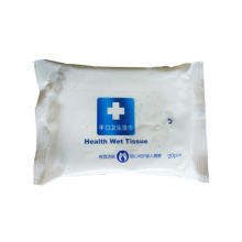 Lingettes humides antibactériennes personnelles jetables médicales