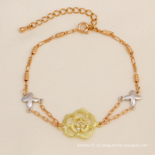 Xuping Moda Multicolor Bracelete de Ouro 18k
