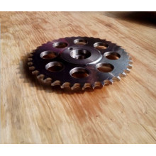 Precision Transmission Roller Chain Stock Tooth Chain Sprocket