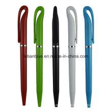 Fabrik-Preis-einfaches Entwurfs-preiswerter Stift, verdrehter Kugelschreiber (LT-C766)